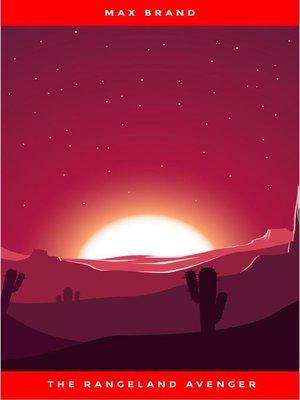 cover image of The Rangeland Avenger