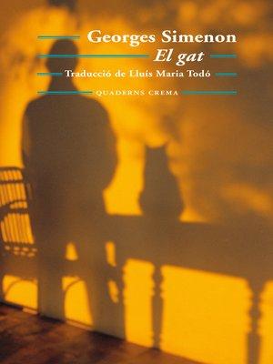 cover image of El gat