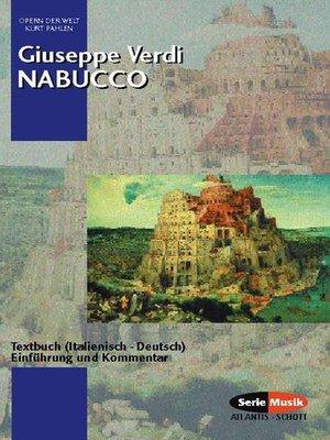 cover image of Nabucco