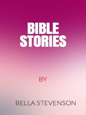 cover image of Bible Stories