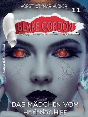 cover image of Blake Gordon #11