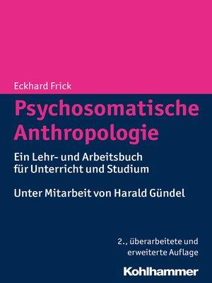 cover image of Psychosomatische Anthropologie
