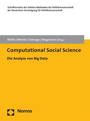 cover image of Computational Social Science
