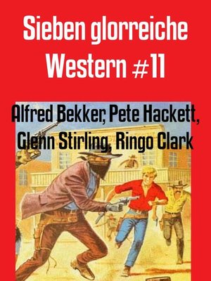 cover image of Sieben glorreiche Western #11
