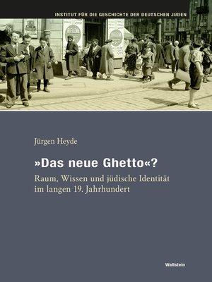 "cover image of ""Das neue Ghetto""?"