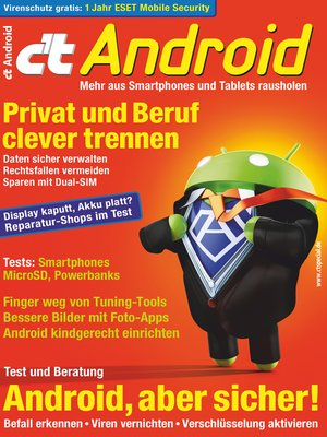 cover image of c't Android 2017