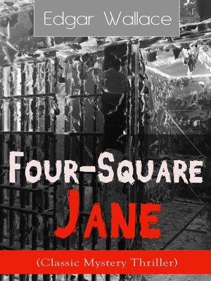 cover image of Four-Square Jane (Classic Mystery Thriller)