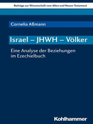 cover image of Israel--JHWH--Völker