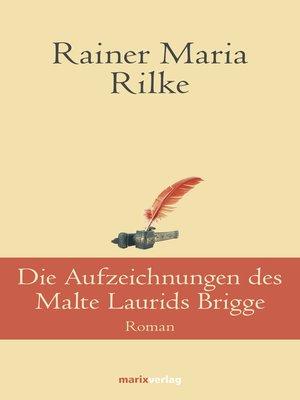 cover image of Die Aufzeichnungen desMalte Laurids Brigge
