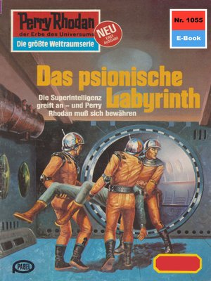 cover image of Perry Rhodan 1055