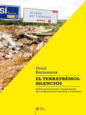 cover image of El terratrèmol silenciós