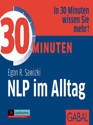 cover image of 30 Minuten NLP im Alltag