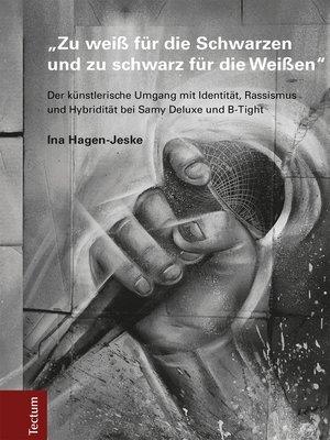 """cover image of """"Zu weiß für die Schwarzen und zu schwarz für die Weißen"""""""