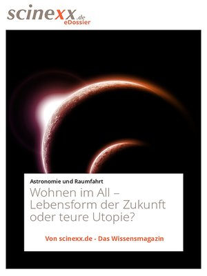 cover image of Wohnen im All