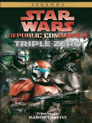 cover image of Republic Commando: Triple Zero