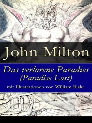 cover image of Das verlorene Paradies (Paradise Lost) mit Illustrationen von William Blake