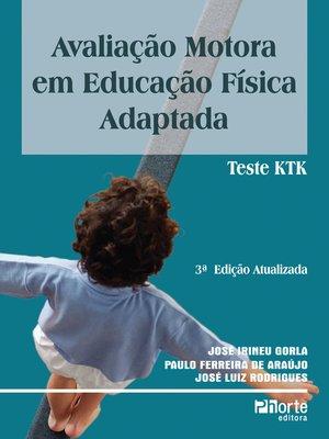 cover image of Avaliação motora em educação física