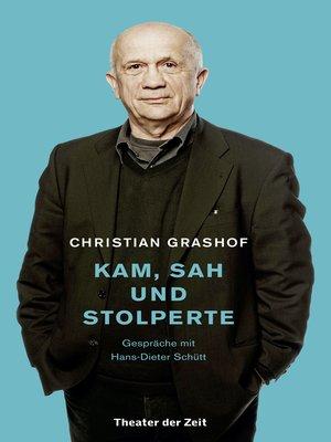 cover image of Christian Grashof. Kam, sah und stolperte