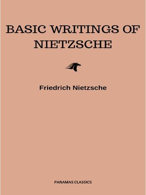 cover image of Basic Writings of Nietzsche (Modern Library Classics)