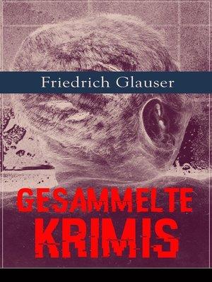 cover image of Gesammelte Krimis