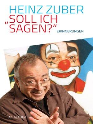 "cover image of ""Soll ich sagen?"""