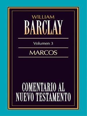 cover image of Comentario al Nuevo Testamento Volume 3