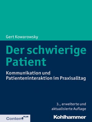 cover image of Der schwierige Patient