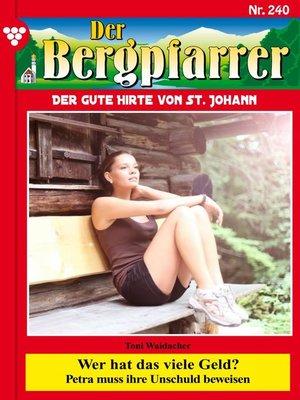 cover image of Der Bergpfarrer 240 – Heimatroman