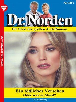 cover image of Dr. Norden 683 – Arztroman