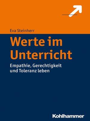 cover image of Werte im Unterricht