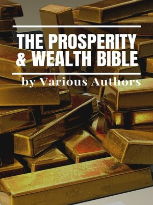 cover image of The Prosperity & Wealth Bible