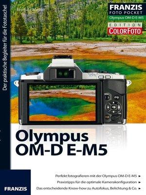 cover image of Foto Pocket Olympus OM-D E-M5