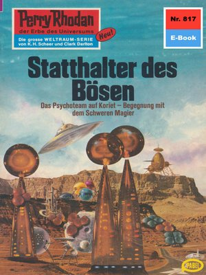 cover image of Perry Rhodan 817