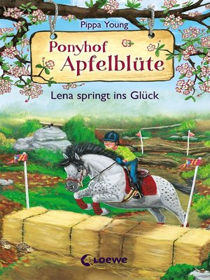 cover image of Ponyhof Apfelblüte (Band 16)--Lena springt ins Glück