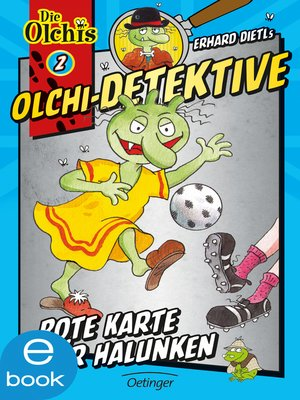 cover image of Rote Karte für Halunken