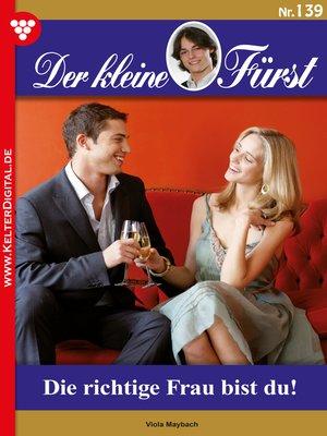 cover image of Der kleine Fürst 139 – Adelsroman