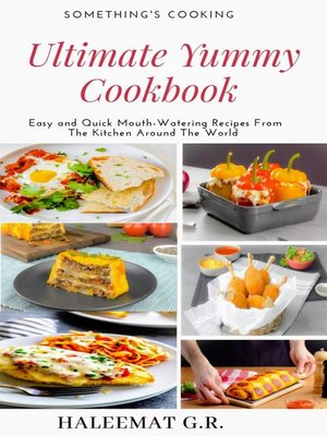 cover image of Ultimate Yummy Cookbook