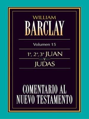 cover image of Comentario al Nuevo Testamento Volume 15