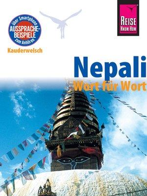 cover image of Nepali--Wort für Wort
