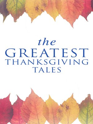 cover image of The Greatest Thanksgiving Tales