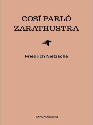 cover image of Così parlò Zarathustra