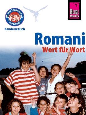 cover image of Romani--Wort für Wort