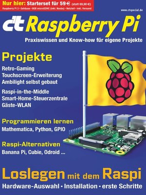 cover image of c't Raspberry Pi (2016)