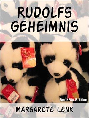 cover image of Rudolfs Geheimnis