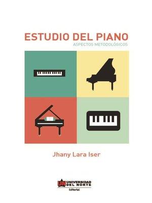 cover image of Estudio del piano