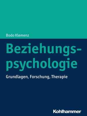 cover image of Beziehungspsychologie
