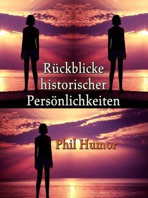 cover image of Rückblicke historischer Persönlichkeiten
