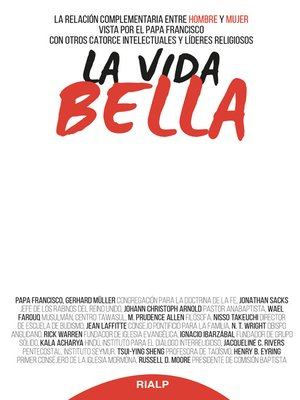 cover image of La vida bella
