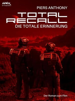 cover image of TOTAL RECALL--DIE TOTALE ERINNERUNG