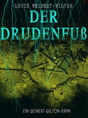 cover image of Der Drudenfuß (Ein Weinert-Wilton-Krimi)